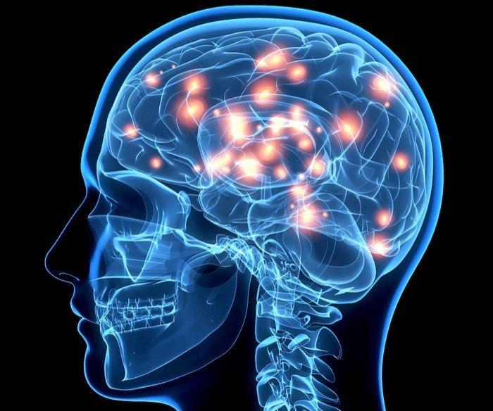 Легкие диффузные изменения биопотенциалов головного мозга