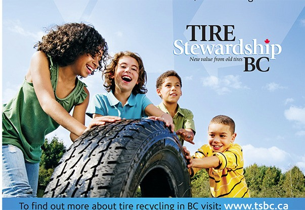Used tire round up this weekend – Cloverdale Reporter