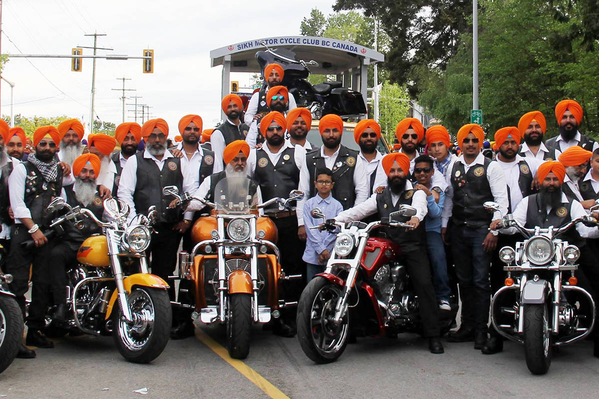 Sikh Motorcycle Club Rides To Save Our Kids At Rally In