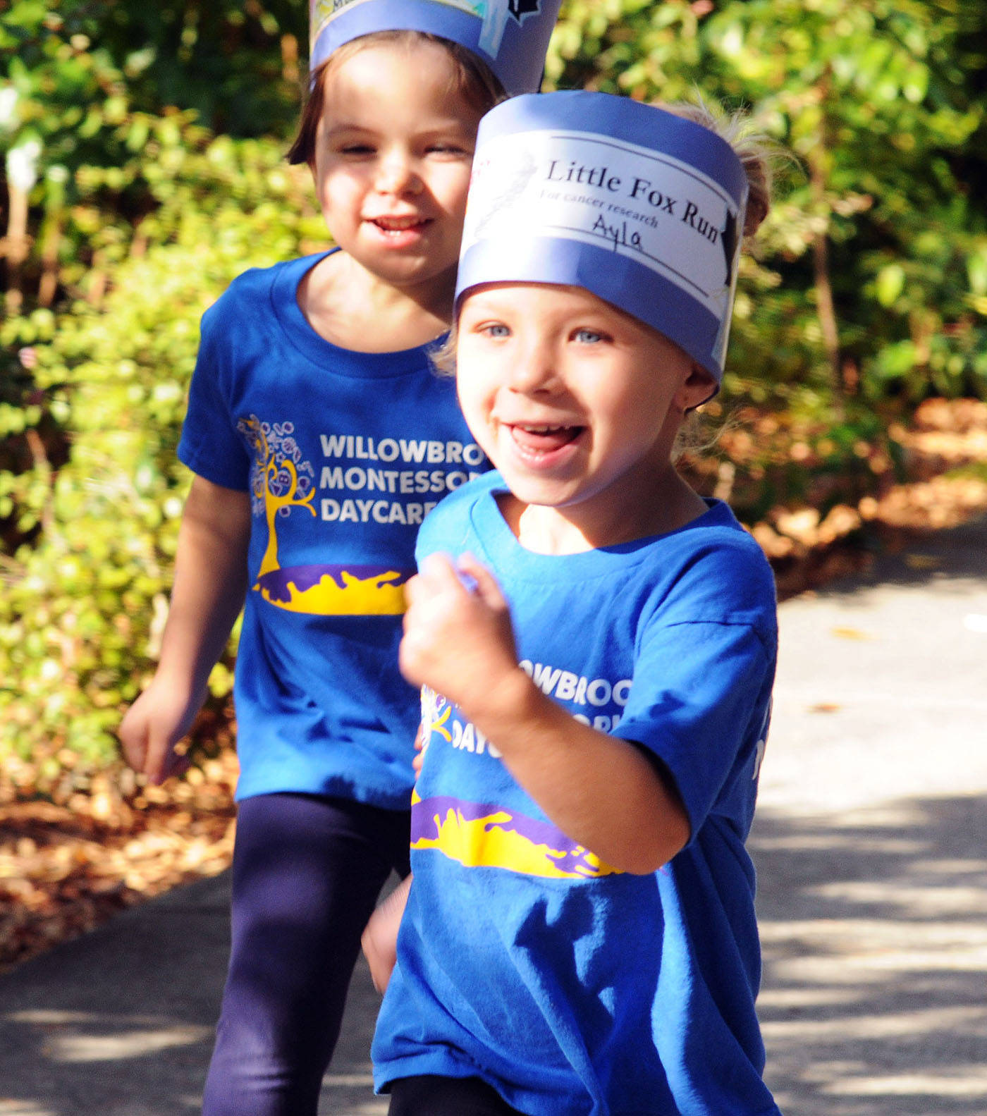 Tots Take Part In Own Terry Fox Run In Langley