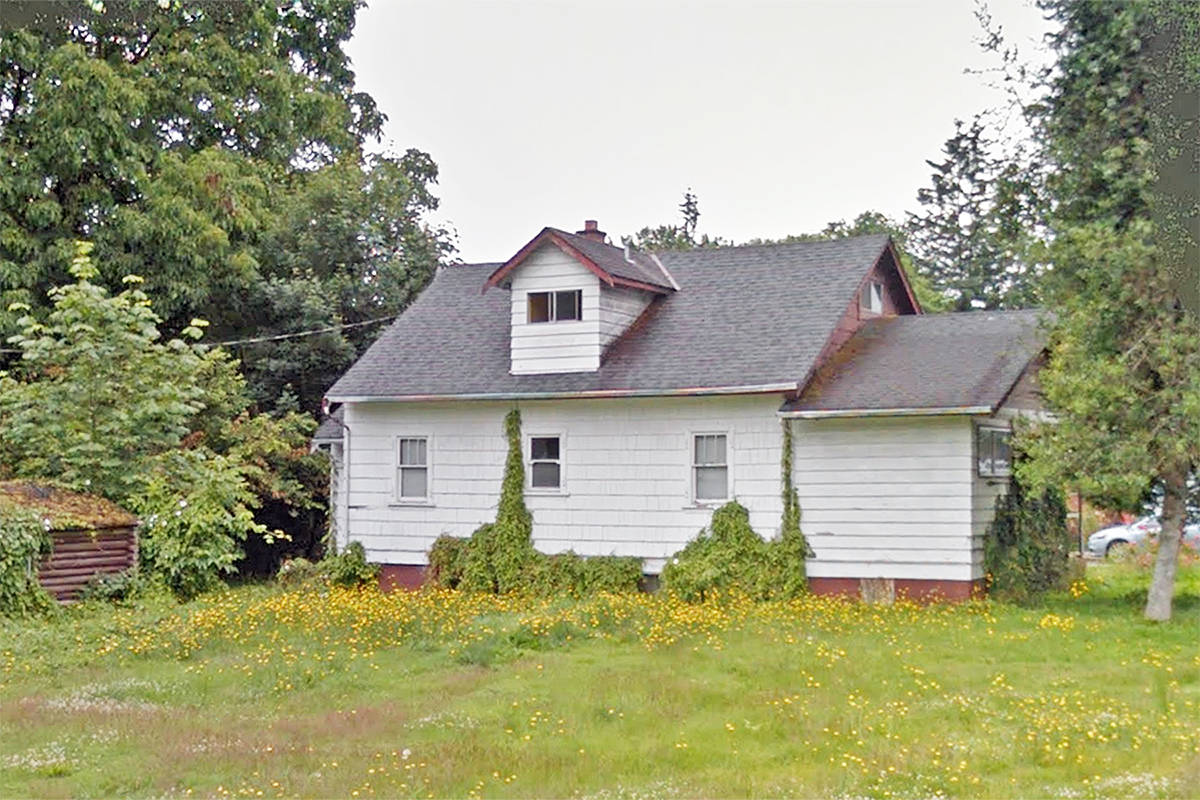 Dispute over demolition permit leads builder to paint for Google house builder