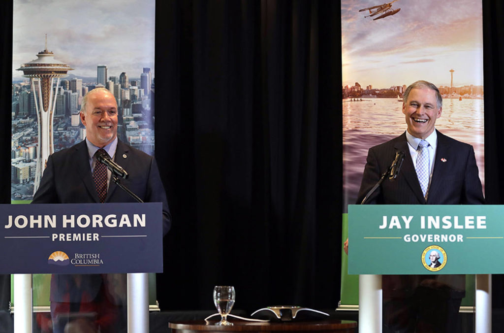Horgan 'envisions' Surrey as terminus for high-speed rail from Seattle