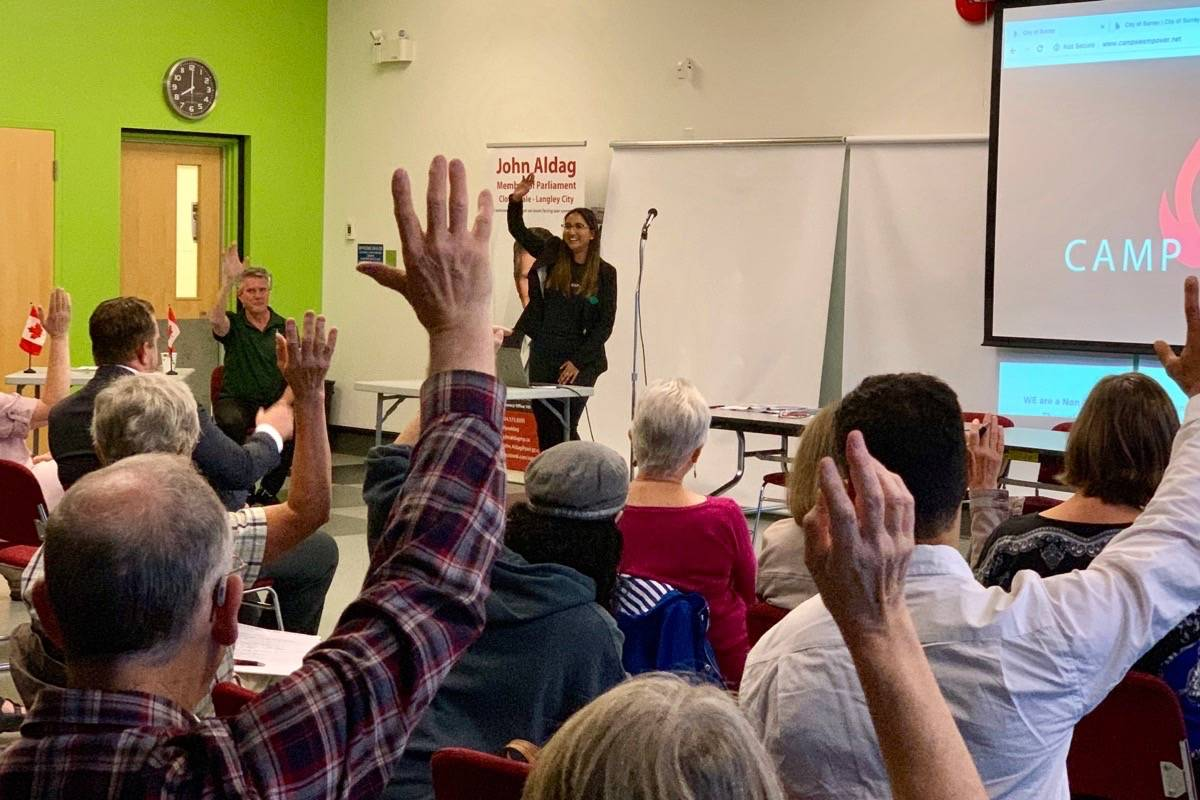 Cloverdale town hall adresses climate change and loss of biodiversity