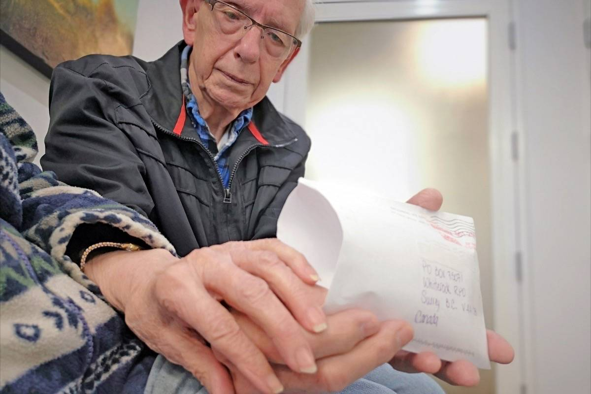 White Rock senior 'just sick' about lost rings
