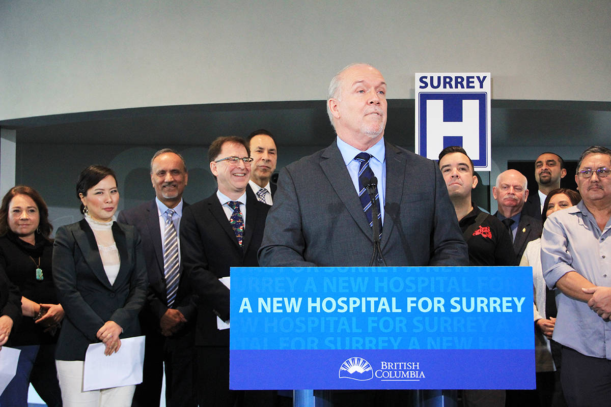 UPDATE: Surrey getting a new hospital, in Cloverdale