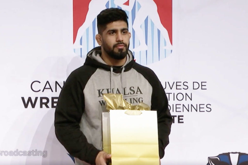Surrey's Dhesi looks to wrestle his way to Olympics in Japan - Cloverdale Reporter