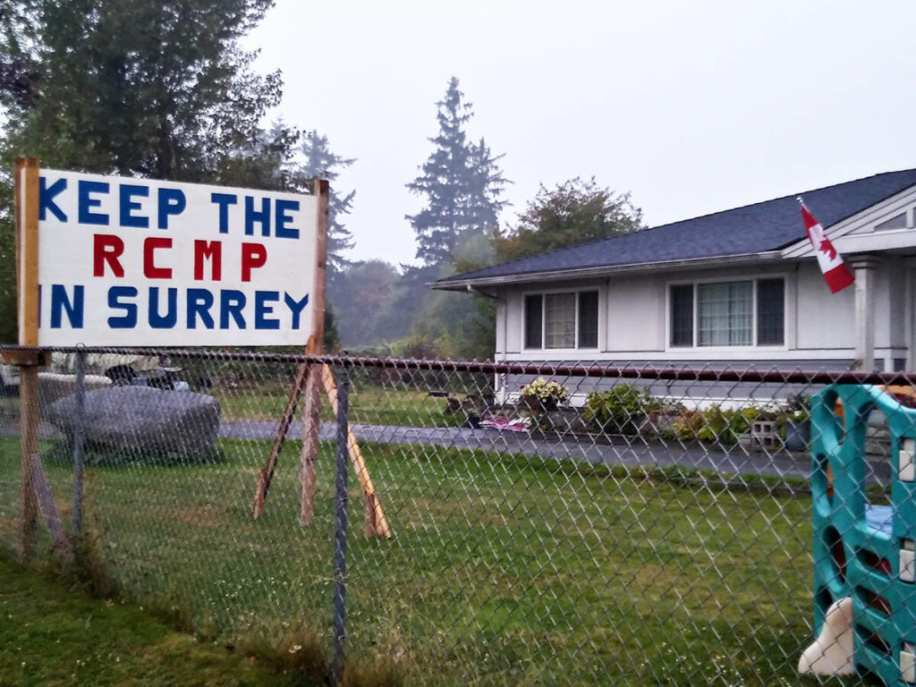Surrey's political sign bylaw condemned as anti-democratic - Cloverdale Reporter